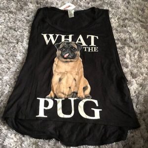 """💐""""What the Pug"""" Tank💐"""